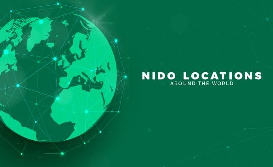 NIDO locations around the world
